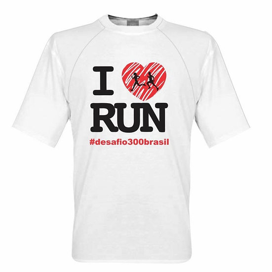 Camisa Branca - I Love Run