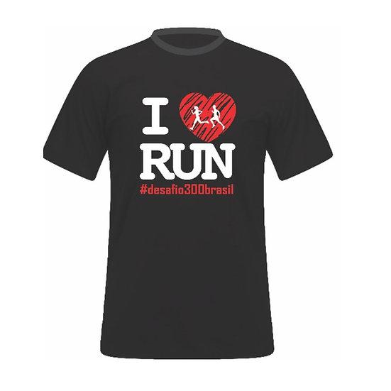 Camisa Preta - ILove Run