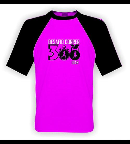 Camisa Rosa - Desafio 300 Dias