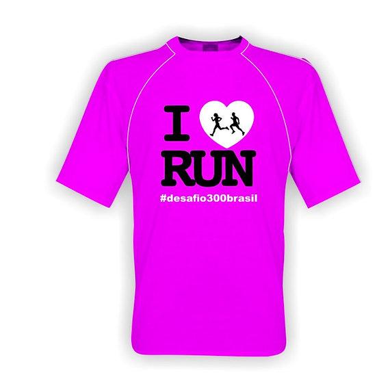 Camisa Rosa - I Love Run