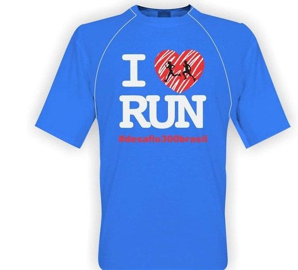 Camisa Azul Claro - I Love Run