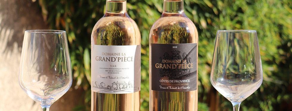 DOMAINE DE LA GRAND'PIECE : BOUTEILLE 75 CL IGP DU VAR