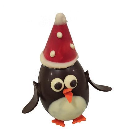 Pingouin avec son bonnet