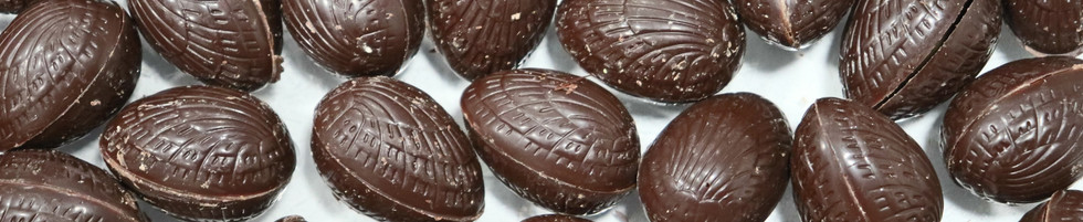 Oeuf chocolat noir