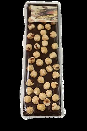 Tablette avec noisettes entières du Piémont