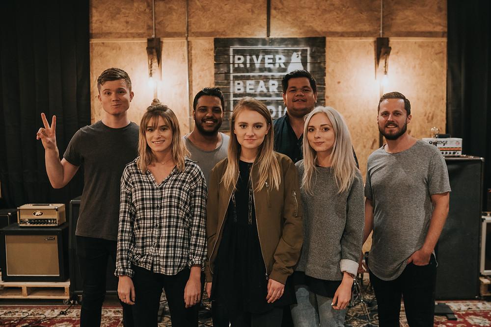 SEU Worship and Michael Fatkin wrapping up at River Bear Studios