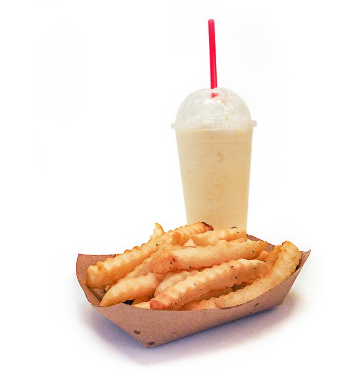 Shake, Fries