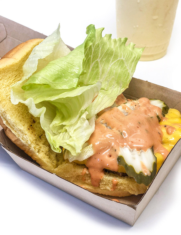 Square Burger, Shake