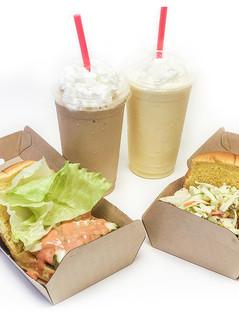 Square, Carolina Burger, Shakes