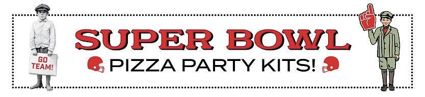Super Bowl Pizza Party Kits