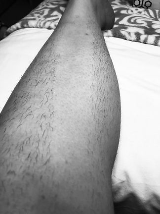 waxing wednesdays leg.jpg