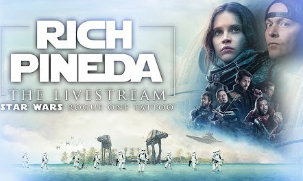 ROGUE ONE TATTOO LIVE WITH RICH PINEDA