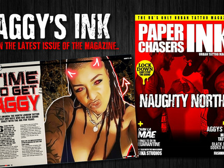 AGGY'S INK (AMANDA) IN THE LATEST ISSUE