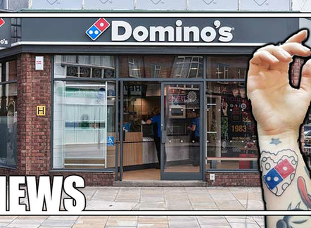 DOMINO'S PROMISED FREE FOR LIFE PIZZA IN EXCHANGE FOR A TATTOO