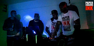 DJ SAFE-D & DEL BOY   PAPERCHASERS INK MAGAZINE   LOCK-IN PARTY