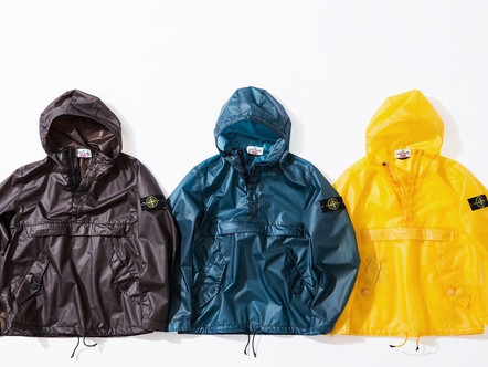 SUPREME & STONE ISLAND TEAM UP FOR A COLLECTION & DROP 7 ITEMS