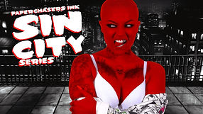 TATTOO MODEL 'CHANEL' JOINS US FOR OUR SIN CITY PHOTO SERIES