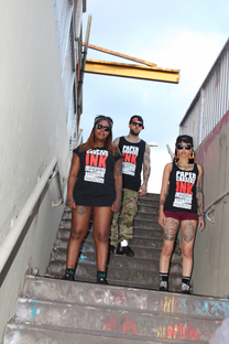 PAPERCHASERS INK - URBAN TATTOO MAGAZINE
