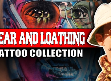 FEAR AND LOATHING IN LAS VAGAS TATTOOS
