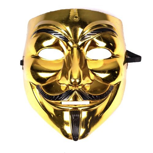Anonymous Mask - Gold