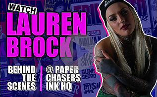LAUREN BROCK AT PAPERCHASERS INK MAGAZIN