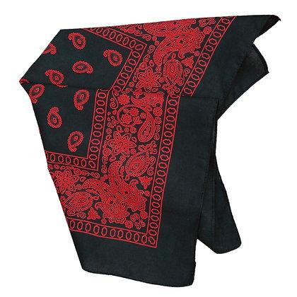 Bandana - Black/Red