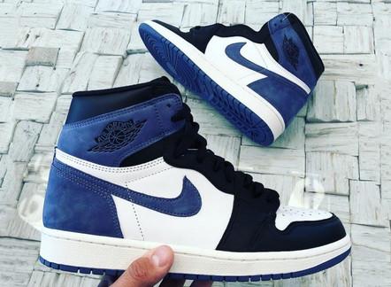 """Air Jordan 1 High OG """"Blue Moon"""""""