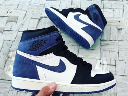 "Air Jordan 1 High Og""Blue Moon"""