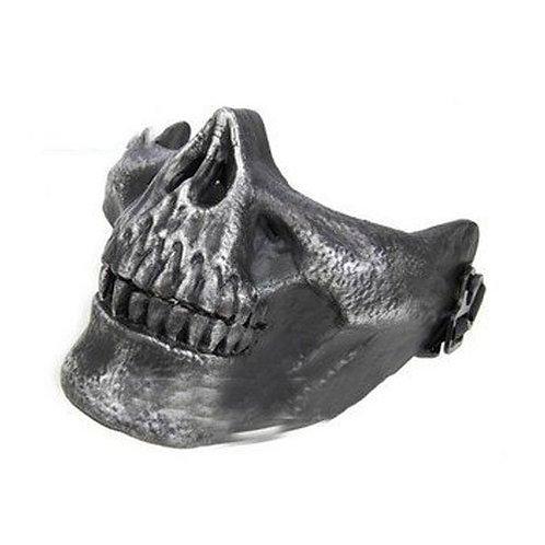 Kasstino Skull Skeleton Mask (silver)