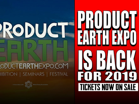 PRODUCT EARTH 'CANNABIS' EXPO/FESTIVAL IS BACK