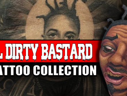 WU TANG CLAN 'ODB' TATTOOS