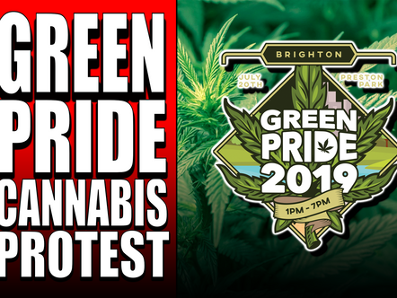 THIS WEEKEND | GREEN PRIDE 2019 | CANNABIS EVENT IN BRIGHTON