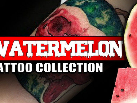 JUICY WATERMELON TATTOOS