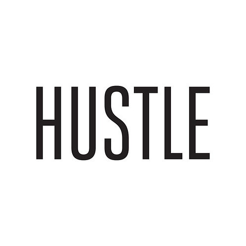 HUSTLE -temp tattoo