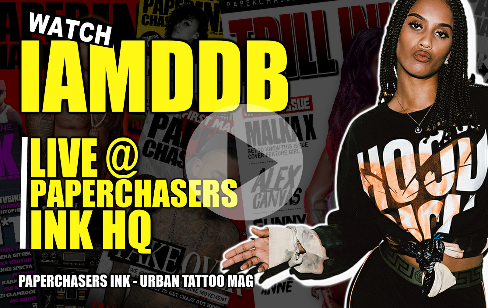 WATCH : IAMDDB - DOOBIES | IN THE PAPERCHASERS INK - MAGAZINE HQ