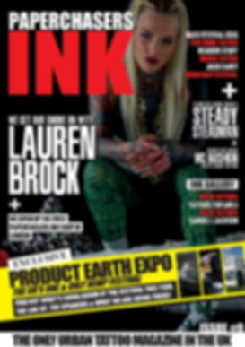 paperchasers ink - tattoo magazine
