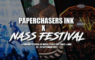 PAPERCHASERS INK AT NASS FESTIVAL 2021 (New Dates)