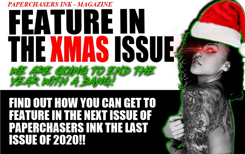 FEATURE IN THE XMAS ISSUE, PAPERCHASERS