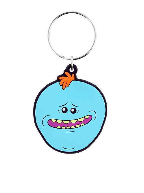 RICK AND MORTY MR MEESEEKS RUBBER | KEYCHAIN