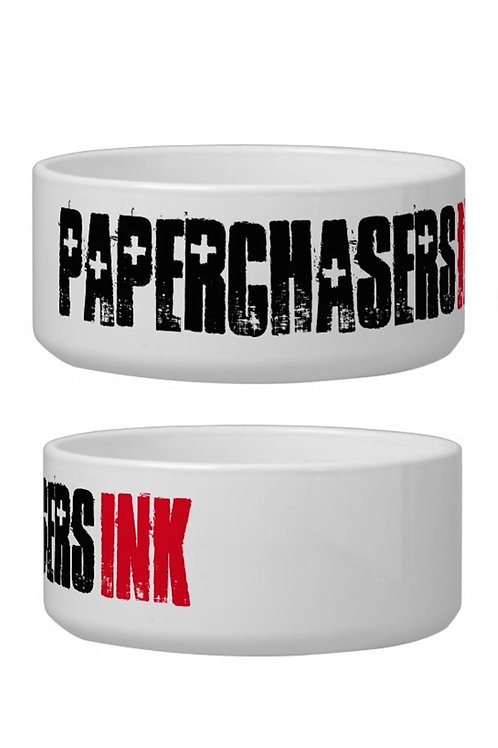 Large Paperchasers Ink Dog Bowl