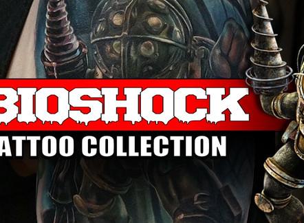BIOSHOCK GAME TATTOOS