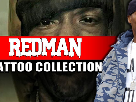REGINALD NOBLE AKA REDMAN TATTOO COLLECTION