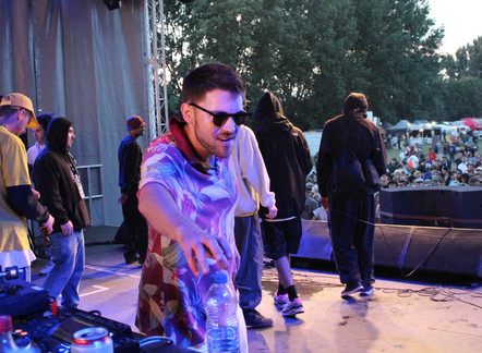 WE WAS BACK AT 'BOOM BAP' HIPHOP FESTIVAL 2016