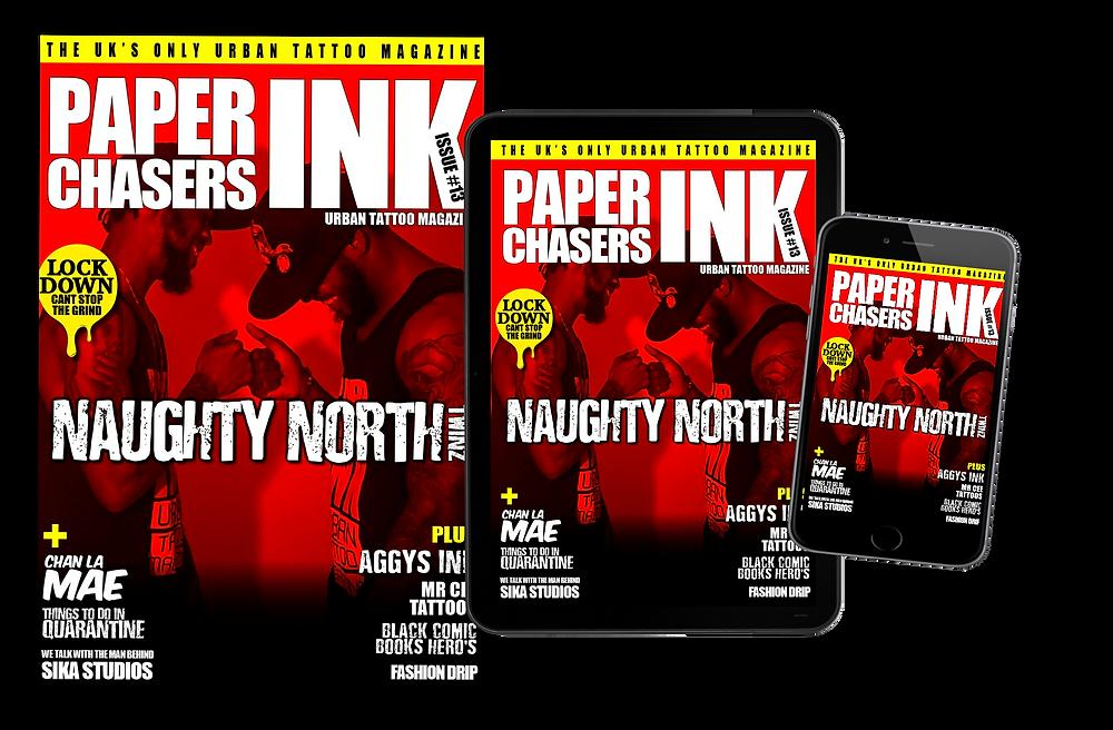 paperchasers ink -urban tattoo magazine
