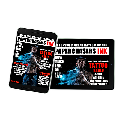 PAPERCHASERS INK, URBAN TATTOO MAGAZINE,