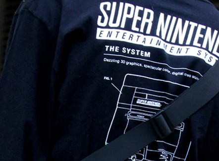 SUPER NINTENDO & FOREVER 21 COLLABORATION ON A COLLECTION