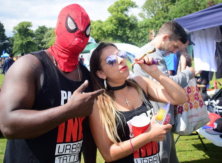 SEE THE PHOTOS OF US GETTING HIGH AT GREEN PRIDE 2017