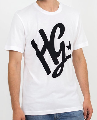 HG Script T-Shirt - White