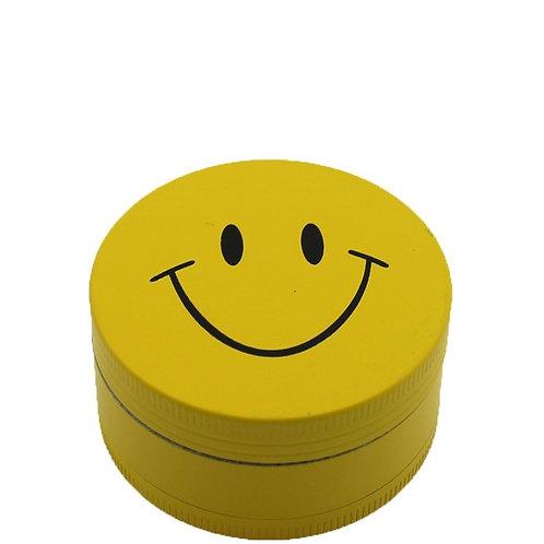 Smiley Face | 3 Part Magnetic Metal Grinder