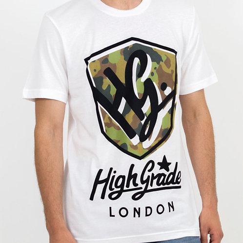 HG Camo Shield T-Shirt - White